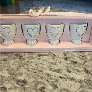 Rae Dunn color heart egg holders